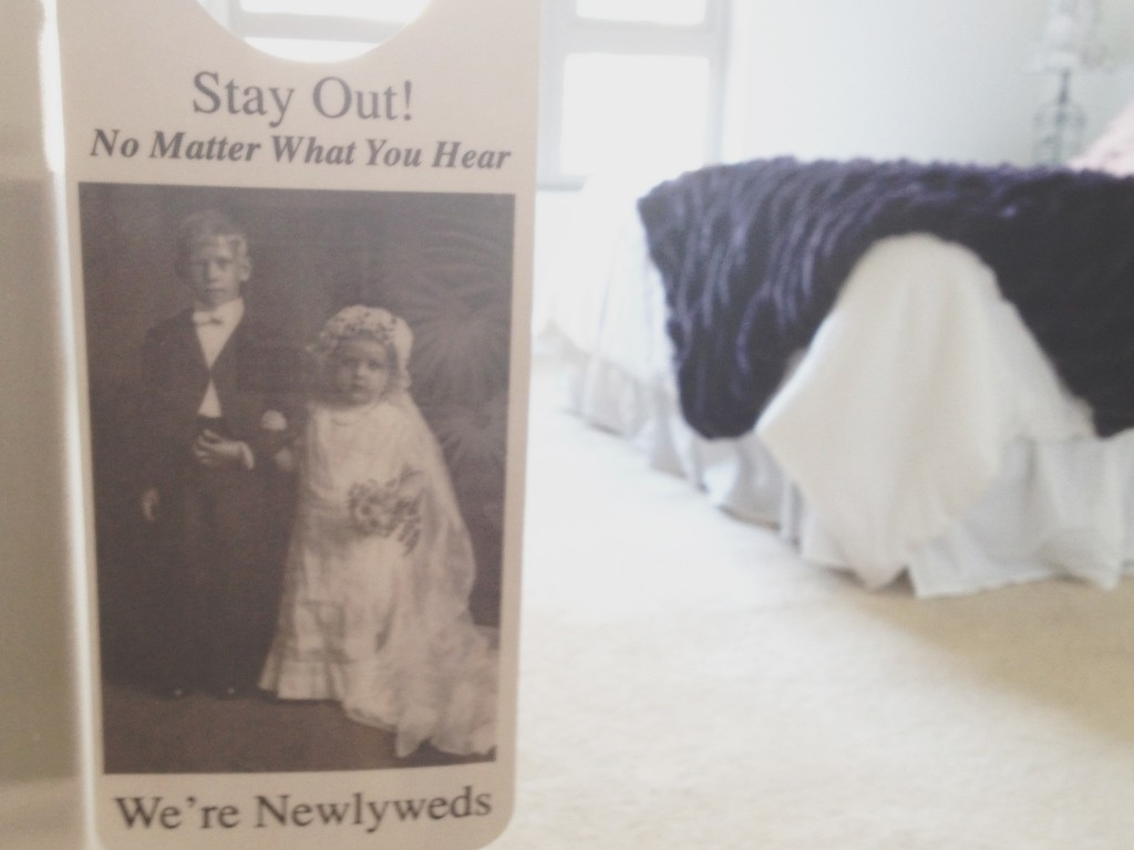 newlywed bedroom