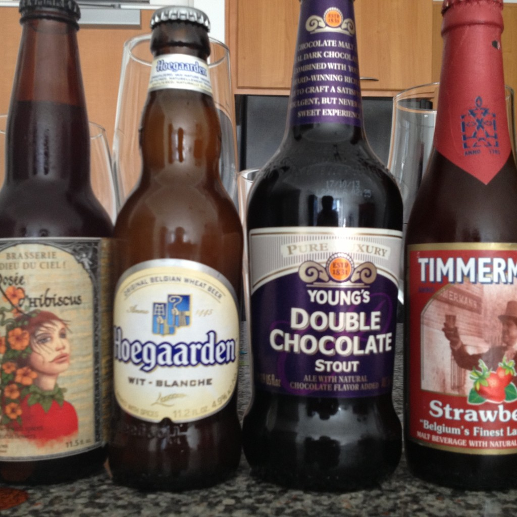 lambic, wit and stout beers