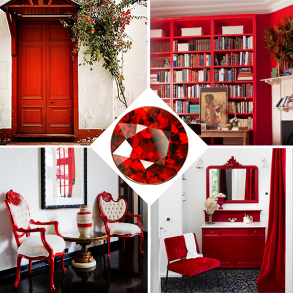 Red home decor - Home decorating classes decoration ...
