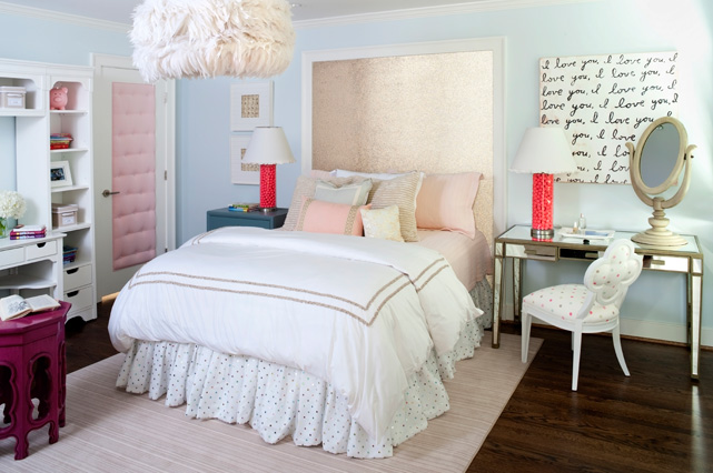 If i were single bedrooms for Modern feminine bedroom designs