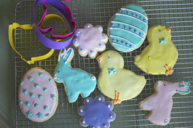 ... easter egg cakes easter egg puzzle cookies recipe dishmaps easter egg