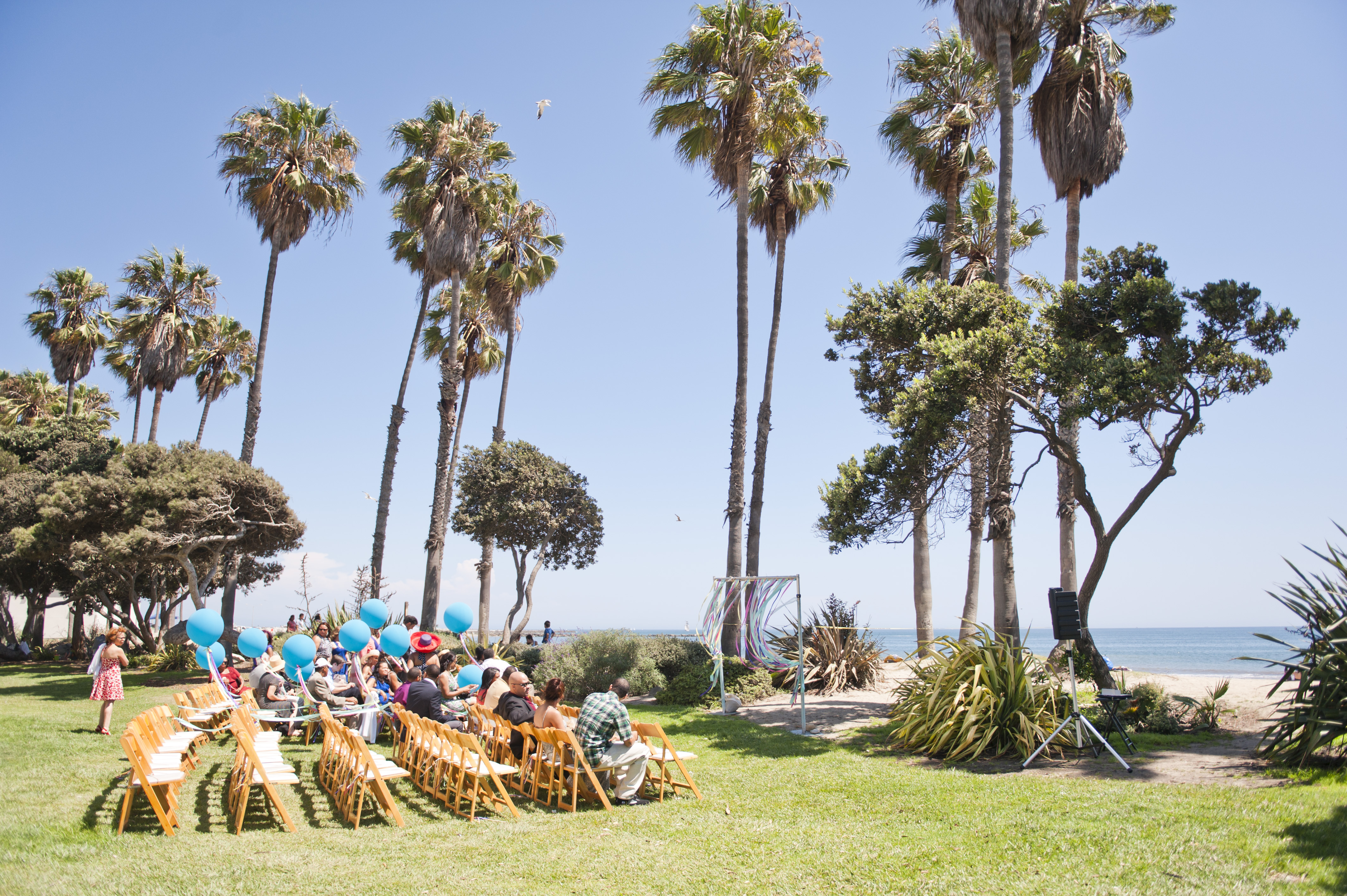 Cabrillo Beach Bath House Wedding