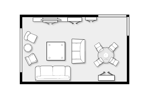 Small living room ideas for Small living room floor plan