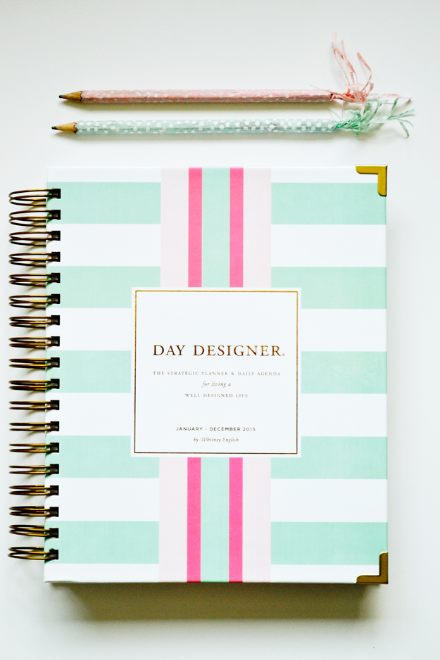 Persnickety image in day designer planners